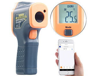 eba59a124d36e0 AGT Messgeräte  Profi-Infrarot-Thermometer mit Laser