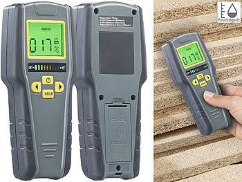 Digitaler 4in1-Feuchtigkeits-Detektor mit nicht-invasiver Messung, LCD / Feuchtigkeitsmesser
