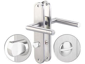 Zylinderschloss Türschloss Türgriff Für Innengriffe Für WC Bad Set