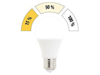 Luminea LED Beleuchtung: 4er Set LED Lampen mit 3