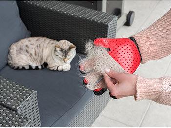 losen Haaren und Schmutz Flohkamm F/üR Katzen Katzenb/üRste Fellpflege 2in1-B/ürste zur Entfernung von Knoten Doppelb/ürste f/ür Hunde und Katzen
