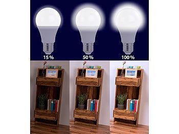 Kühlschrank Lampe 10w : Luminea led mit e gewinde led lampe mit helligkeits stufen