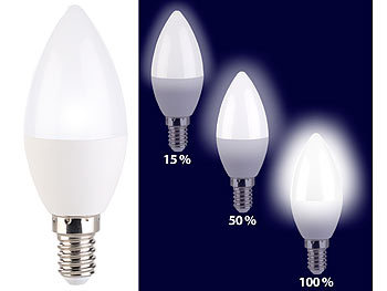 3-Stufen-Dimm dimmbar mit normalem Lichtschalter! LED Leuchtmittel GU10//E27//E14