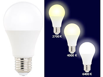 10 x Sparpaket E27 10 Watt matt LED Leuchtmittel Lampe A60 820 Lumen Glühbirne