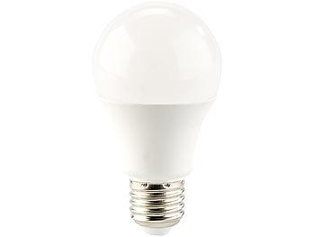 ... Luminea LED Lampe In RGB + Warmweiß, E27, 10 Watt, Fernbedienung, ...