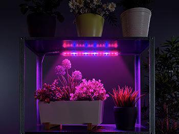 LED-Pflanzenunterbauleuchte mit Rot-Blau-Lichtkombination, 520 Lumen / Pflanzenlampe