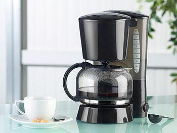 pearl kaffeemaschine kf 115 mit mehrweg filter 680 w f r. Black Bedroom Furniture Sets. Home Design Ideas