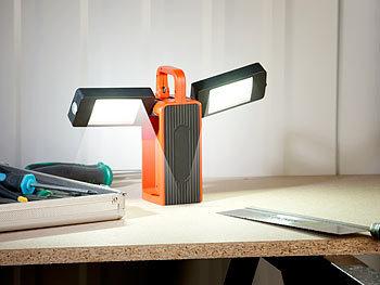 lunartec arbeitsleuchte al 525 cob leds neodym magnet 3 modi 8w 325lm ip44. Black Bedroom Furniture Sets. Home Design Ideas