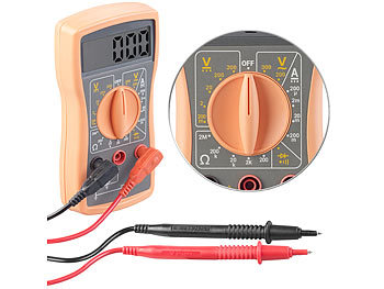 Digitales Multimeter VA52 für Spannung, Stromstärke und Widerstand / Multimeter