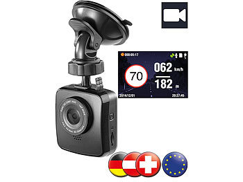 dashcam vergleich tests top 11 dashcams f r 2017. Black Bedroom Furniture Sets. Home Design Ideas