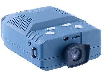 Nachtsichtgerät mit 3x-Vergrösserung, bis 200 m Sicht, microSD-Aufnahme / Nachtsichtgerät