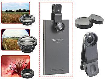 Somikon vorsatzlinsen set smartphone vorsatz linsen set mit
