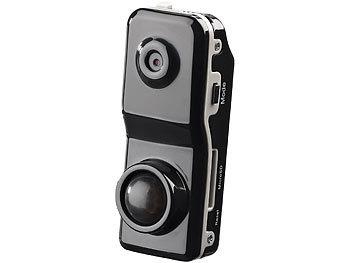 Mini-Action-Cam Raptor-5000.pr mit PIR-Bewegungssensor / Überwachungskamera
