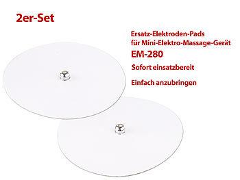 2er-Set Elektroden-Pads für Akku-Stimulator EM-280 | Massagegerät