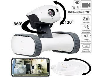 Home-Security-Rover m. HD-Video, IR-Nachtsicht, weltweit fernsteuerbar / Roboter