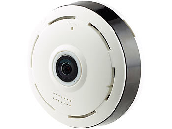 Rundum überwachungskamera Für Auto : 7links wlan camera ip panorama berwachungskamera f r 360 rundumsicht nachtsicht 960p 360 ~ Aude.kayakingforconservation.com Haus und Dekorationen