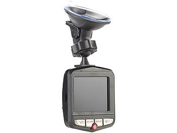 Dashcam für Pkw, LKW, Van, Minibus, Transporter, Laster Videorecorder Video