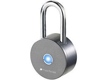 Visortech smart lock schl sselloses vorh ngeschloss v2 bluetooth 4 0 metallgeh use ip47 for Sicherheitsschloss knacken