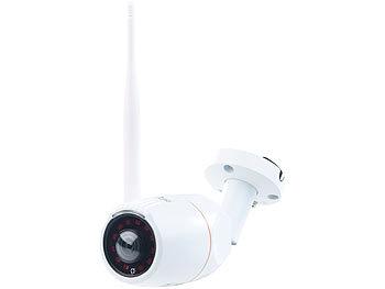 360°-Panorama-IP-Aussen-Überwachungskamera IPC-550.wide, WLAN, Nachtsicht, App, IP66 0