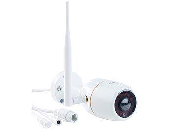360°-Panorama-IP-Aussen-Überwachungskamera IPC-550.wide, WLAN, Nachtsicht, App, IP66 1