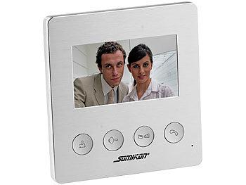 Video-Türsprechanlage VSA-400 mit Farbdisplay, LED-Licht und Türöffnungsfunktion 2