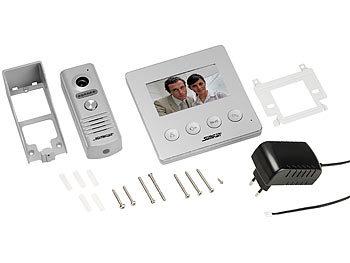 Video-Türsprechanlage VSA-400 mit Farbdisplay, LED-Licht und Türöffnungsfunktion 5