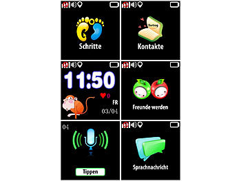 GPS Tracking Uhr Kinder