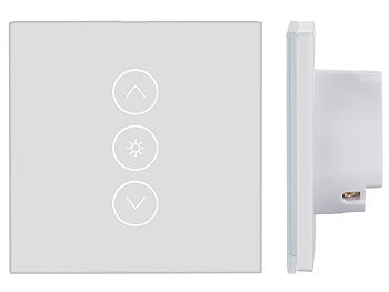 Extrem Luminea Home Control WLAN Dimmer: Touch-Lichtschalter & Dimmer RE94