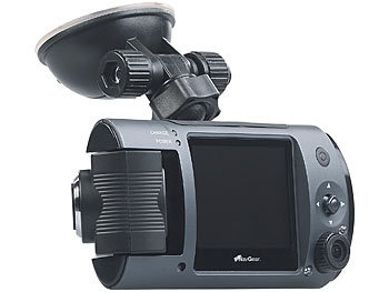 Full-HD-Dashcam MDV-1915.dual mit 2 Objektiven, 150° Ultra-Weitwinkel, Sony-Sensor 3