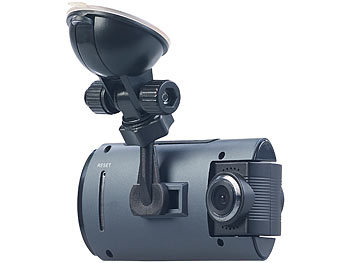 Full-HD-Dashcam MDV-1915.dual mit 2 Objektiven, 150° Ultra-Weitwinkel, Sony-Sensor 5