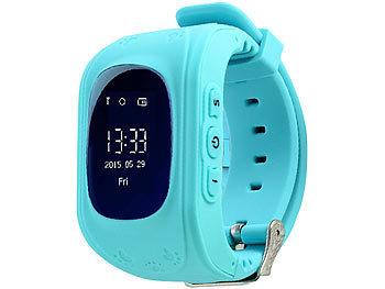 Kinder-Smartwatch PW-110.kids mit Telefon- und SOS-Funktion, GPS-/LBS-Tracking, blau 4