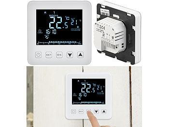 1x Digitale Raumthermostat Thermostat Fußbodenheizung mit Kabel Fernbedienung