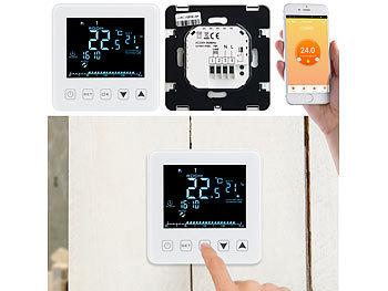 revolt wlan thermostat wlan raumthermostat f r heizungen. Black Bedroom Furniture Sets. Home Design Ideas