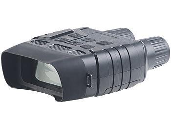Nachtsichtgerät binokular mit HD-Videokamera, bis 700 m IR-Sichtweite / Nachtsichtgerät