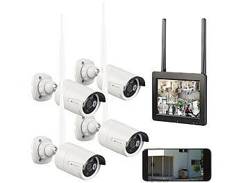 HD Video Funk Überwachungssystem IP Video Überwachungskamera Set mit 7/'/' Monitor