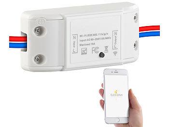 Luminea Home Control Wifi Schalter Wlan Schalter Fur Licht