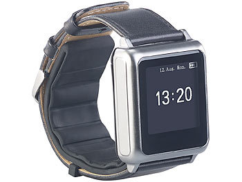 newgen medicals Blutdruck-Armbanduhr mit Pumpe, E-Ink..