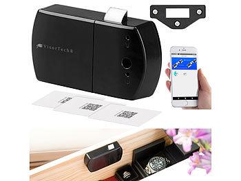 Schubladen- & Schranktüren-Schloss mit RFID-Schlüssel, Bluetooth, App / Schubladenschloss