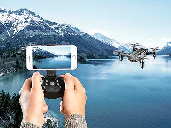 Simulus Drohnen: Faltbarer FPV Mini Quadrocopter, Full HD