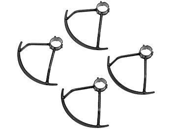 Rotorenschutz-Set für Mini-Quadrocopter GH-44.mini, 4-teilig / Drohne