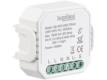 WLAN-Unterputz-Lichtschalter und -Dimmer, mit App und Sprachsteuerung / Dimmer