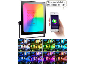 RGB-Flutlichter Smart-Home