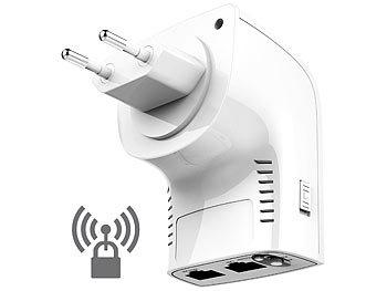 Dualband-WLAN-Repeater, Access-Point und Router, 750 Mbit/s, WPS-Taste / Wlan Verstärker