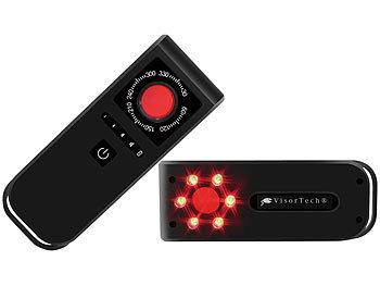 Mobiler Spycam-Detektor zum Finden von versteckten Kameras, Akku, IP44 / Kamerafinder
