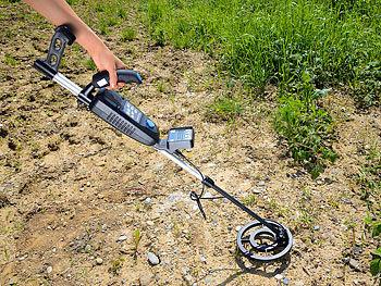 Wetekom Ultraschall Entfernungsmesser : Agt metallsuchgerät: digital metalldetektor profi mit metall