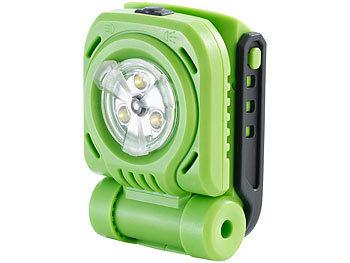 18 V ohne Akku klappbar LED Handstrahler 300 lm AGT Professional Arbeitsleuchte: Akku-LED-Baulampe AW-18.bl
