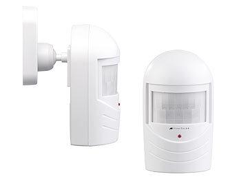 Bewegungsmelder-Attrappe zur Einbrecher-Abschreckung, blinkende LED 6
