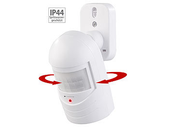Bewegungsmelder-Attrappe zur Einbrecher-Abschreckung, blinkende LED 7