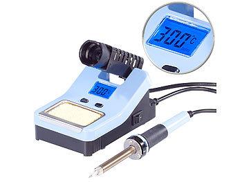 Digitale Lötstation mit LCD-Display, 160 - 520 °C, 48 Watt / Lötstation