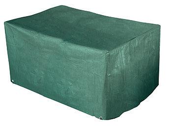 royal gardineer abdeckhaube gewebe abdeckplane f r 2er lounge gartensofa 120x95x80 cm. Black Bedroom Furniture Sets. Home Design Ideas